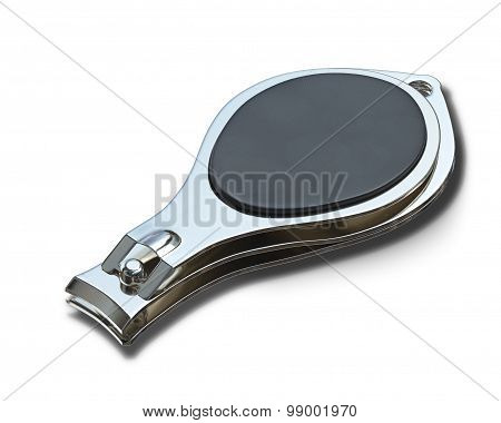 nail clipper with a rubber handle