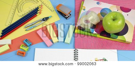 Colorful Equipment For A Children's Office