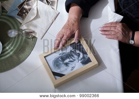 Picture Of Dead Husband