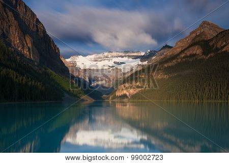 Lake Louise In The Early Morning Light