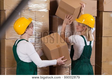 Ladies With Packages