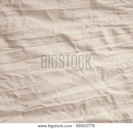 Beige Fabric Can Use As Background