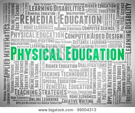 Physical Education Means University College And Gymnastics