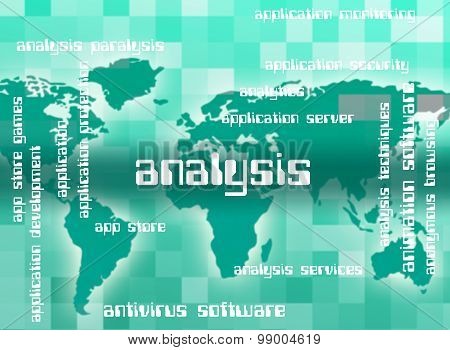 Analysis Word Indicates Analytics Words And Analyzing