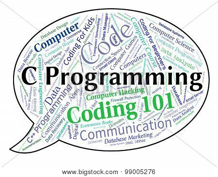 C Programming Indicates Software Design And Application