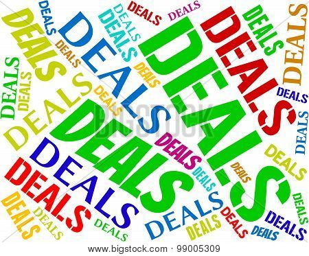 Deals Words Represents Agreement Text And Dealings