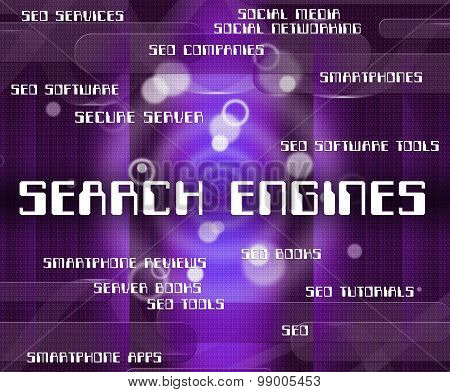 Search Engines Means Gathering Data And Analyse