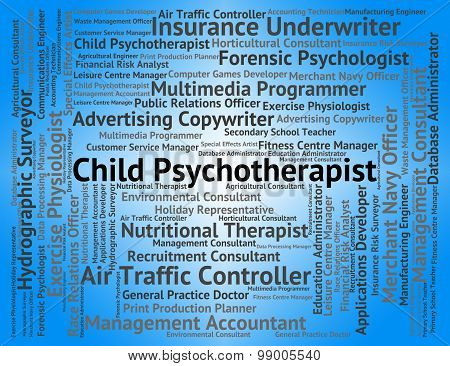 Child Psychotherapist Indicates Personality Disorder And Childs