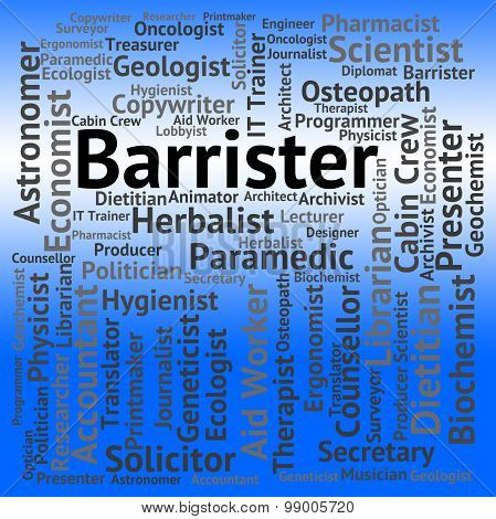 Barrister Job Shows Jobs Barristers And Occupation
