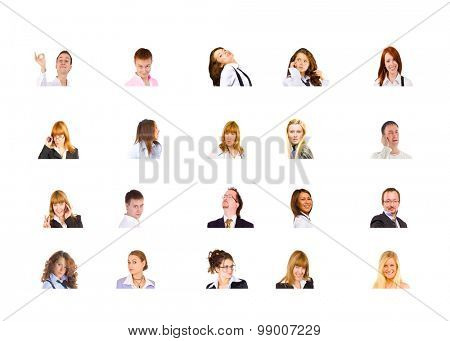 People Diversity Office Faces