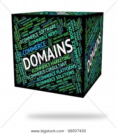 Domains Word Indicates Dominions Empire And Words