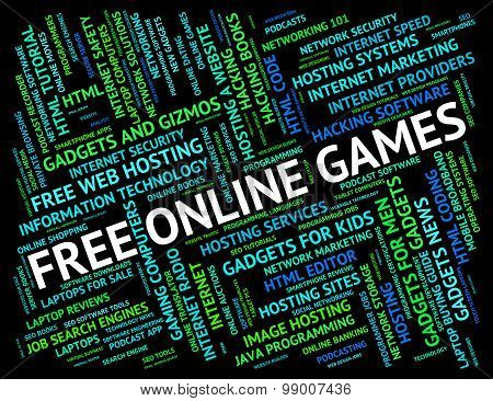 Free Online Games Indicates With Our Compliments And Web