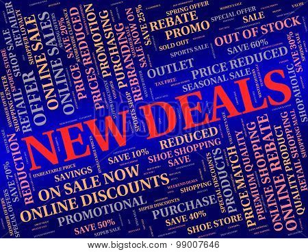 New Deals Represents Latest Product And Agreement