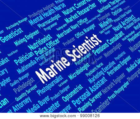 Marine Scientist Shows Hiring Naval And Oceanic