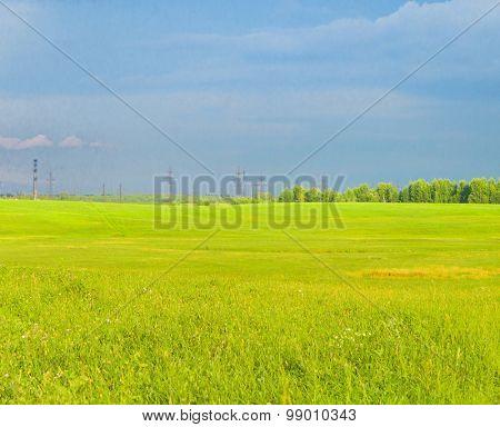Fresh Landscape Nobody Outside