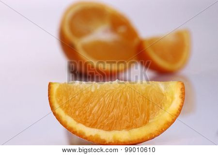 Orange In Studio