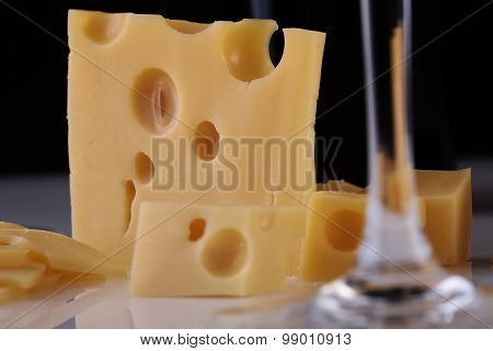 Cheese And Glass Stem