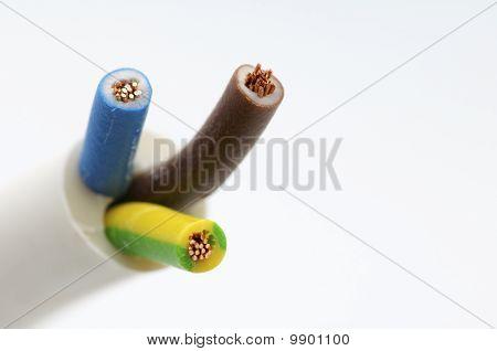 Dreiphasig elektrisches Kabel