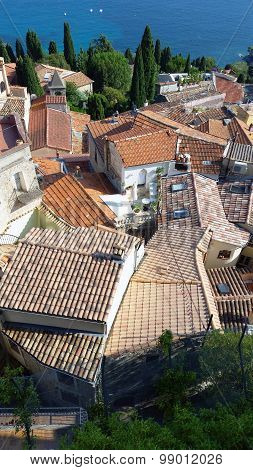 The Roofs Of Roquebrune Cap Martin