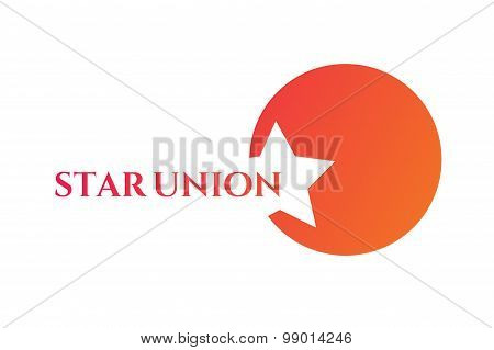 Star vector logo icon template. Leader, boss, winner, rank or ranking