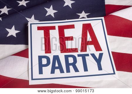 American Flag -  Tea Party