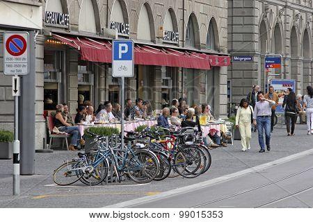 Switzerland - Zurich - Centers