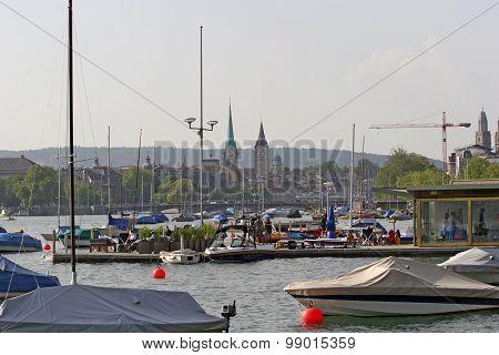 Switzerland - Zurich - Zurich lake