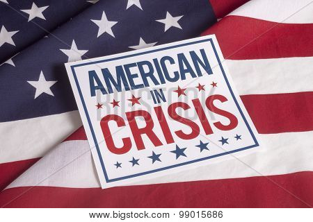 Election Day American In Crisis