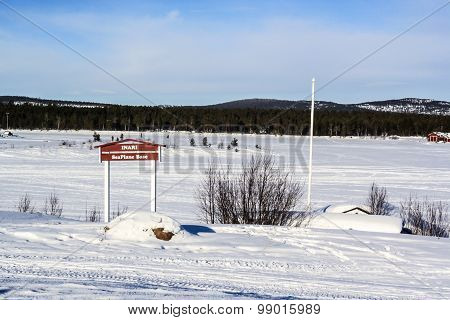 Airfield In Inari, Finland