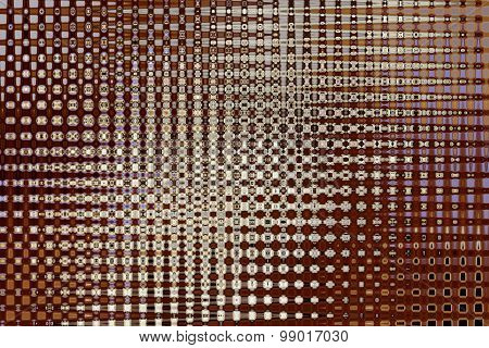 Abstract Brown Texture With Light Gleams