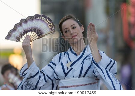 Geisha Dancer
