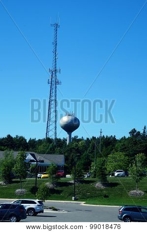 Petoskey Water Tower and Communications Tower