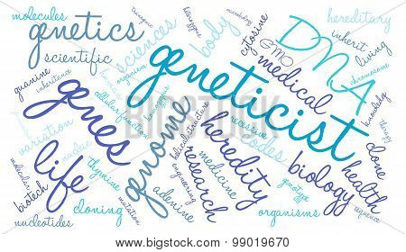 Geneticist Word Cloud