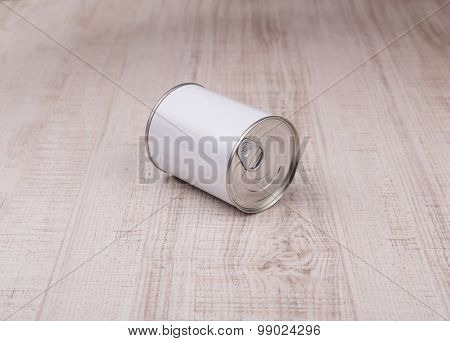 garbage cans on wood floor and wood backgrounds