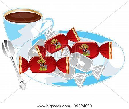 Tea and sweetmeats