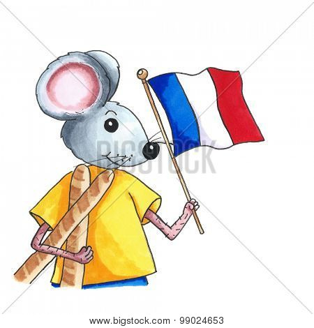 From the series mouse - French mouse