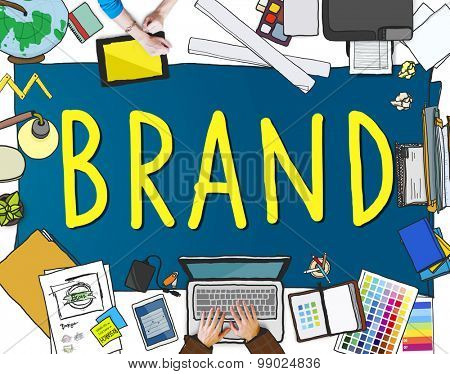 Branding Trademark Marketing Name Concept
