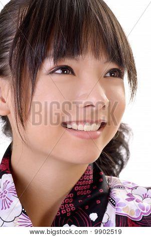 Smiling Japanese Girl