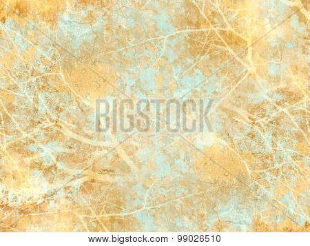 Abstract vintage background with foliage and branches abstraction - soft light autumn colors