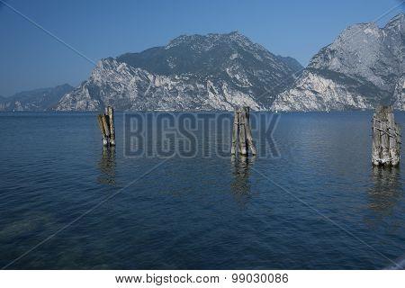 Lake Garda, Torbole view.