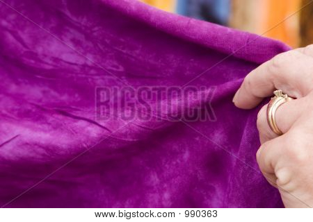 Touching Fabric 4
