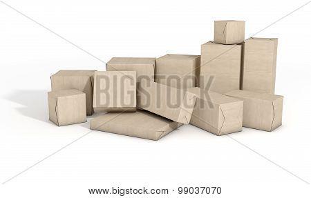 Scattered Box Parcels