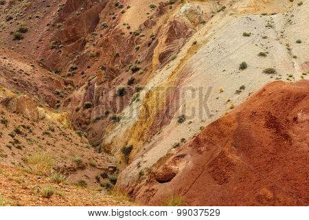 Mountains Color Background Texture