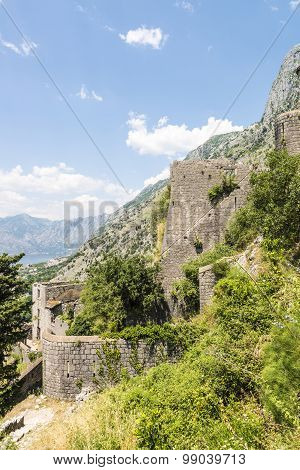 Old fortress in the Balkan Mountains.
