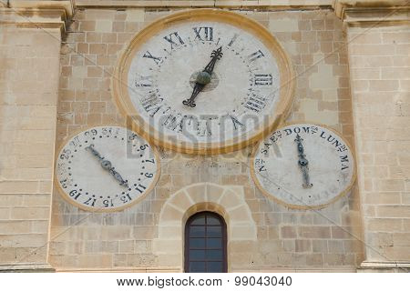 The Old Clock On The Wall