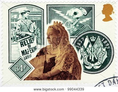 Queen Victoria And Diamond Jubilee Emblem,
