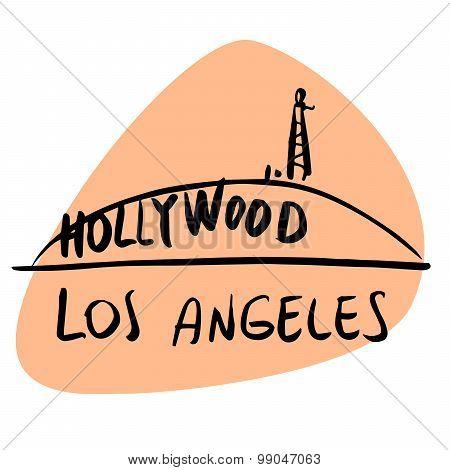 Los Angeles California Usa Hollywood