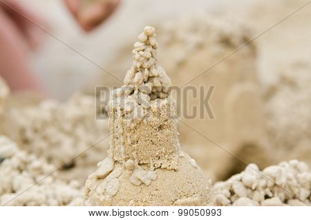 The Pinnacle Of The Sand
