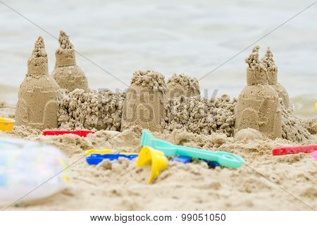 Sand Castle On The River