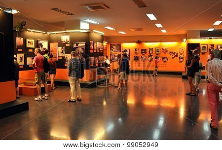 Interior Of The War Remnants Museum, Ho Chi Minh, Vietnam